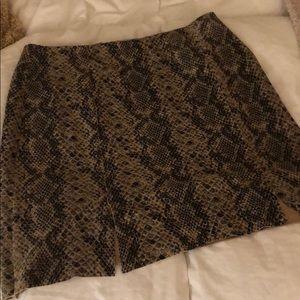LF snakeskin skirt M